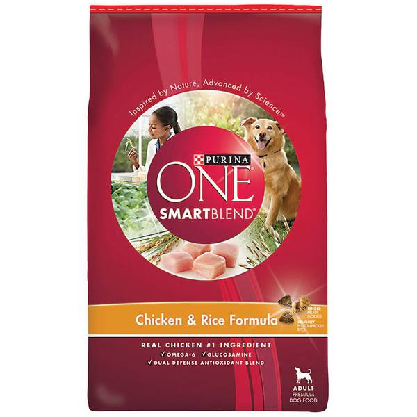 Adult Chicken and Rice Formula Dog Food