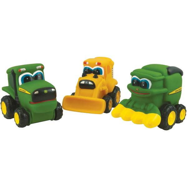 Johnny Tractor & Friends Soft Vehicle Assortment