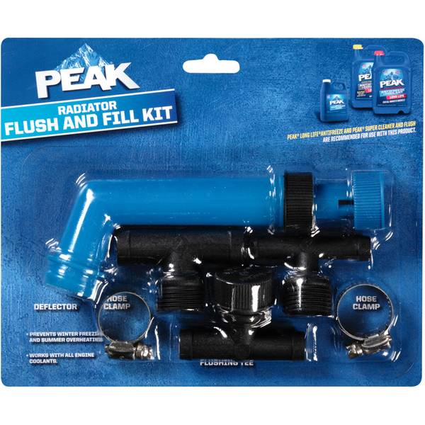 Radiator Flush & Fill Kit