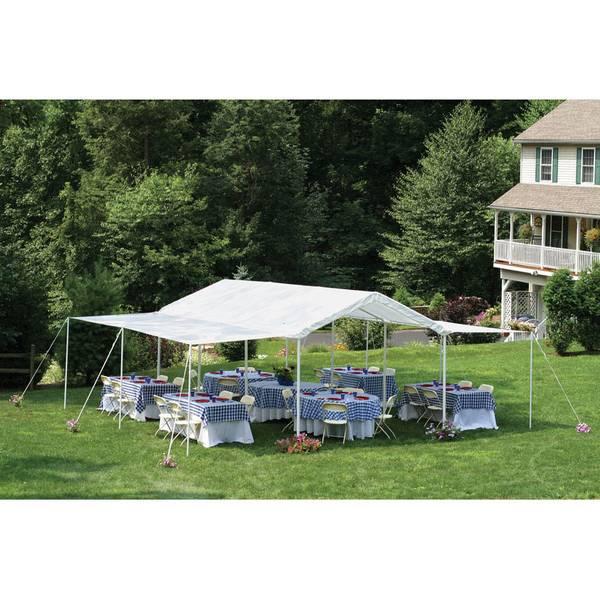 sc 1 st  Farm and Fleet & ShelterLogic Max AP Canopy 10u0027 x 20u0027 2-in-1 Pack - Extension Kit