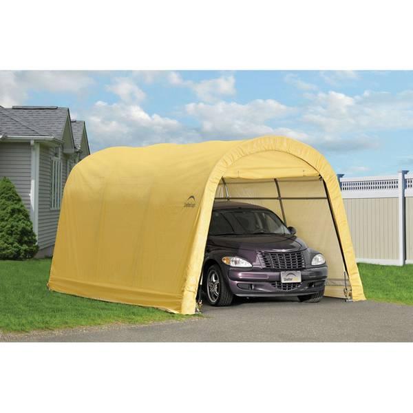 Shelterlogic 10 X 15 Sandstone Auto Shelter