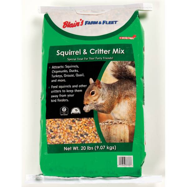 Squirrel & Critter Mix