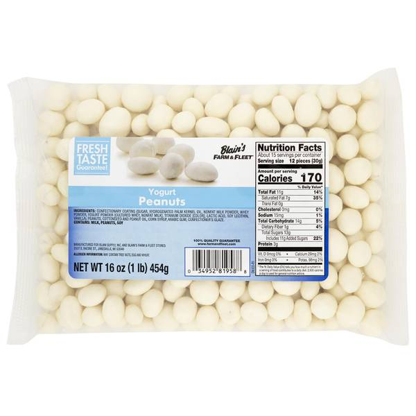 Yogurt Covered Nuts