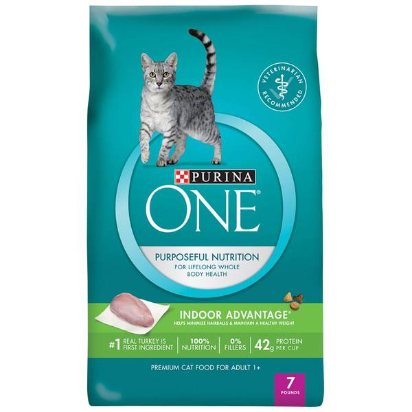 Indoor Advantage Hairball & Healthy Weight Formula Dry Cat Food