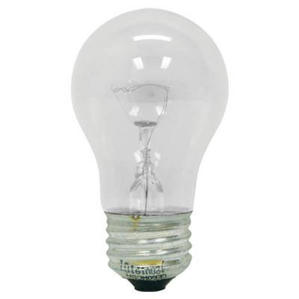Appliance A - Line Crystal Clear Light Bulb 2 Pack
