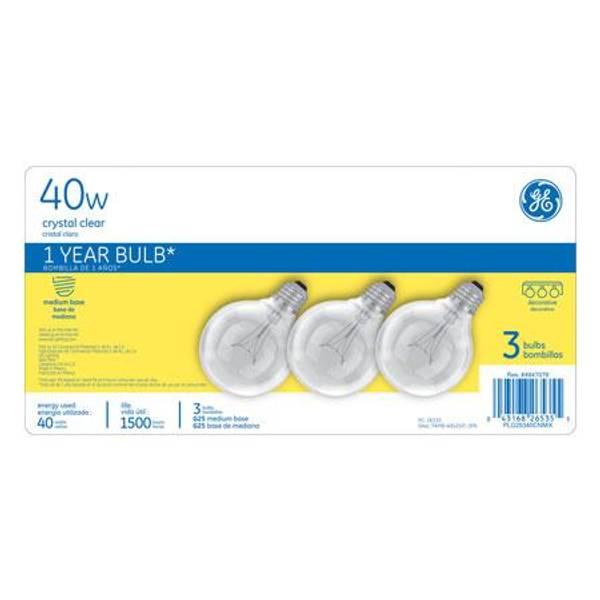 Crystal Clear Bulbs 3 Pack