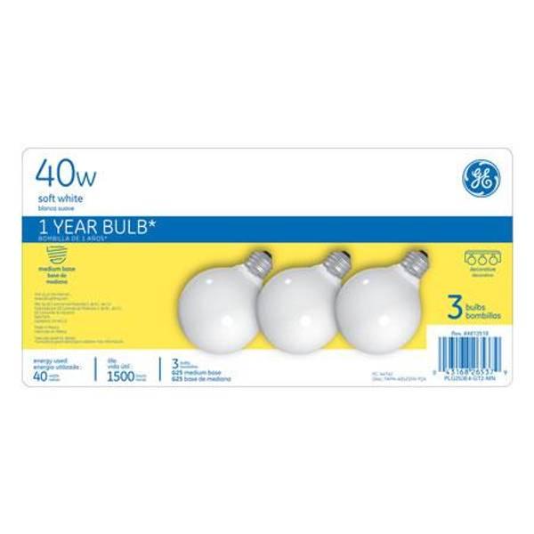 Soft White Global Bulb 3 Pack