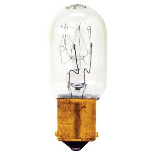 Double Contact Bayonet Base Appliance Light Bulb