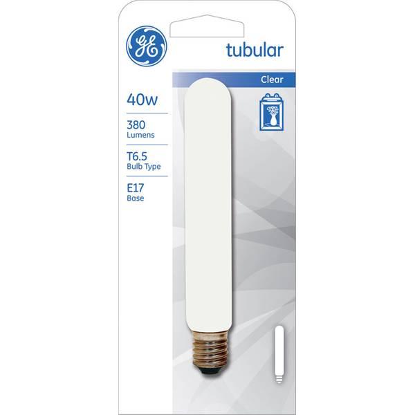 Crystal Clear Tubular Bulb 2 Pack