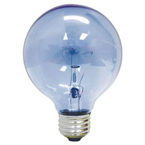 Full Spectrum Reveal Clear Globe Light Bulb