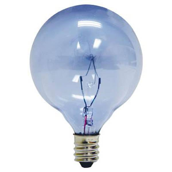 Full Spectrum Reveal Candelabra Globe Light Bulb 2 Pack