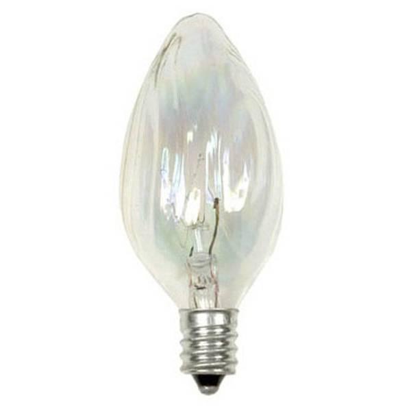 Crystal Clear Multi Use Blunt Tip Deco Bulb Light Bulb 2 Pack