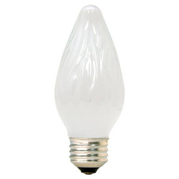 Crystal Clear Multi Use Deco Flame Light Bulb 2 Pack