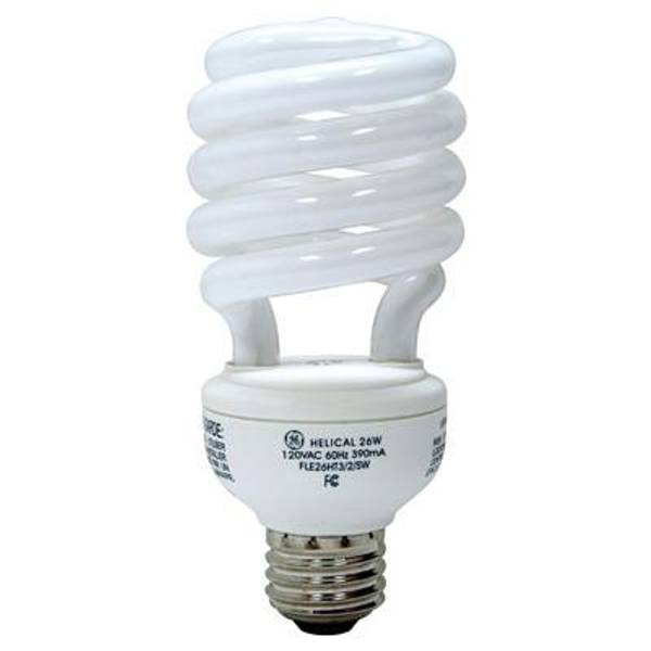Ge Reveal Cfl Spiral Light Bulb