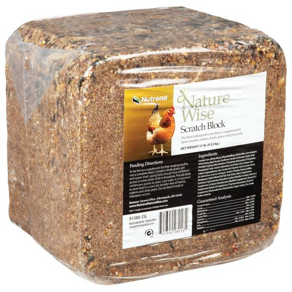 NatureWise Scratch Block for Poultry