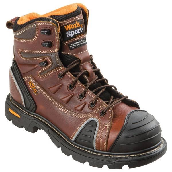 Men's Brown Gen Flex II Steel Toe Work Boots