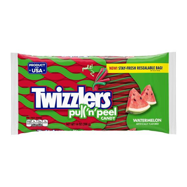 PULL 'N' PEEL Watermelon Flavored Candy