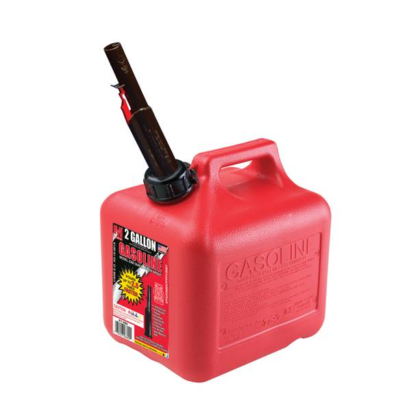 Midwest Can Company 2 Gallon 8 Ounce Gas Can
