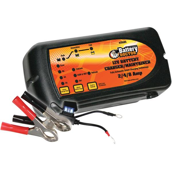 Smart 7 Stage Battery Charger and Maintainer