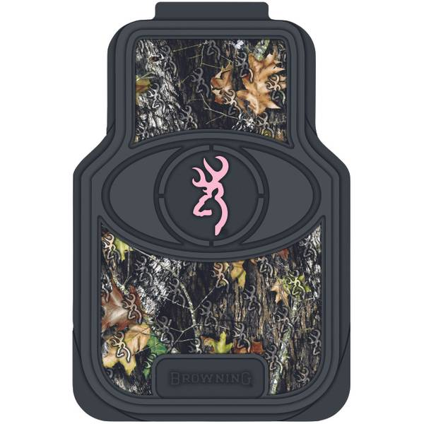 """Pink For Her"" Camo Car Floor Mats"