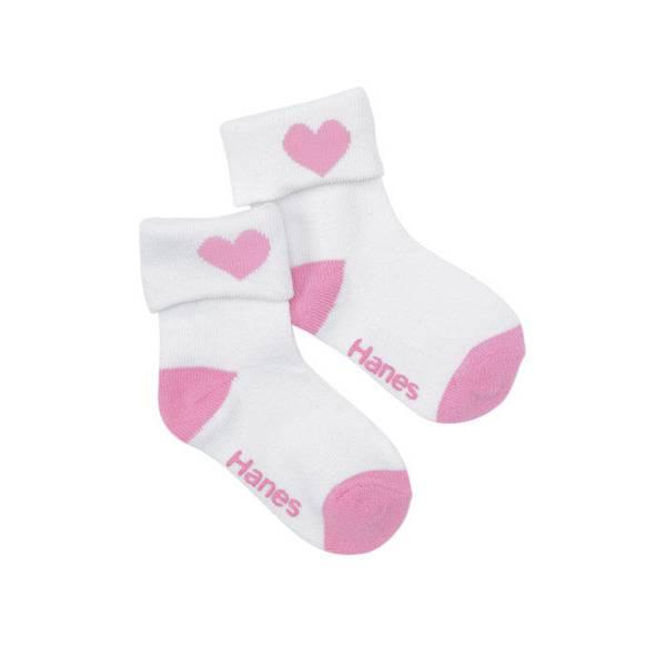 Toddler Girls' 6-Pack Turn Cuff Socks