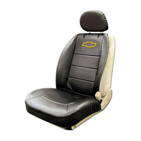 Chevy Sideless Seat Cover with Head Rest