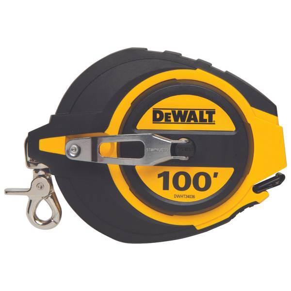 100' Closed Case Long Tape Measure
