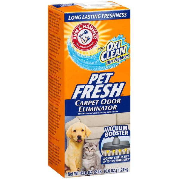 Pet Fresh Carpet & Room Odor Eliminator with Oxi - Clean Dirt Fighters