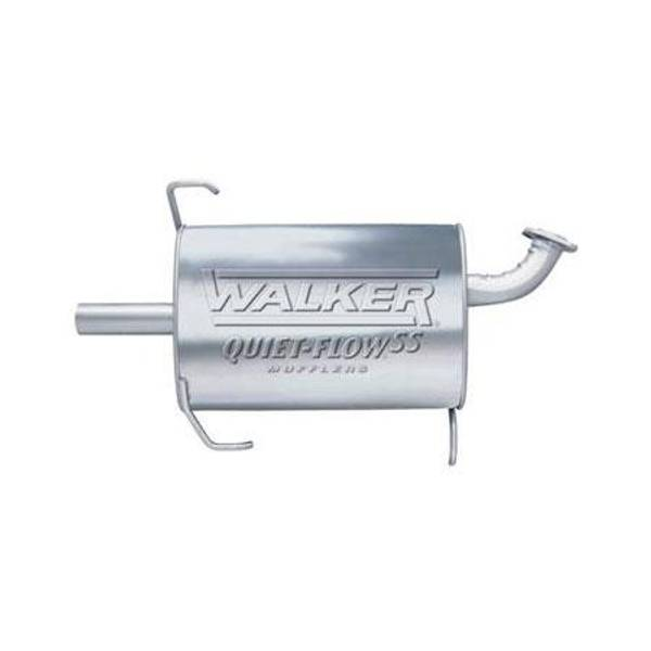 Walker Exhaust 21725 Walker Quiet-Flow SS Muffler Exhaust Muffler