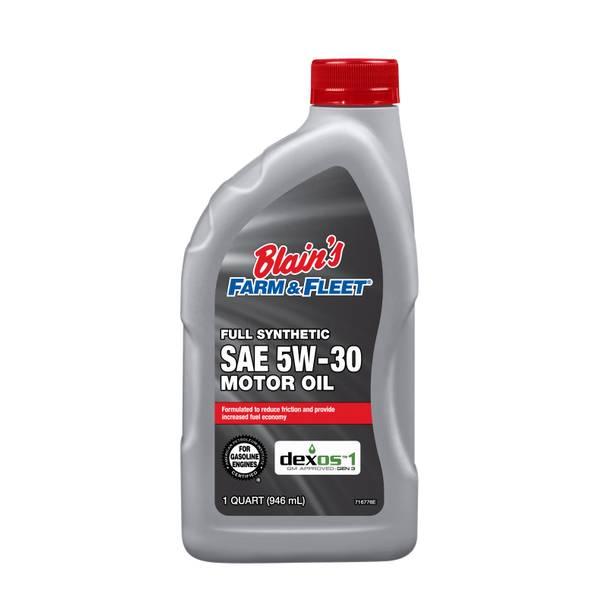 5W30 Full Synthetic Motor Oil