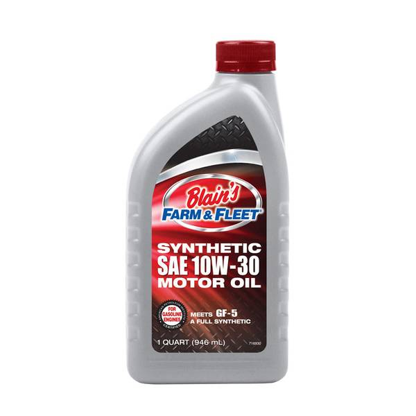 Blain 39 s farm fleet 10w30 full synthetic motor oil for Synthetic motor oil sale