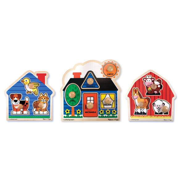 Jumbo Knob Puzzle Assortment