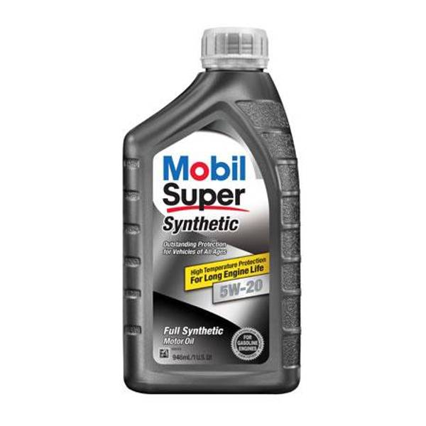 Super 5W-20 Synthetic Motor Oil