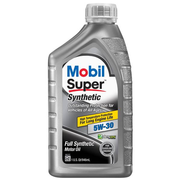 071924277359 upc mobil 1 mobil super 112914 5 w 30 upc for Autozone synthetic motor oil