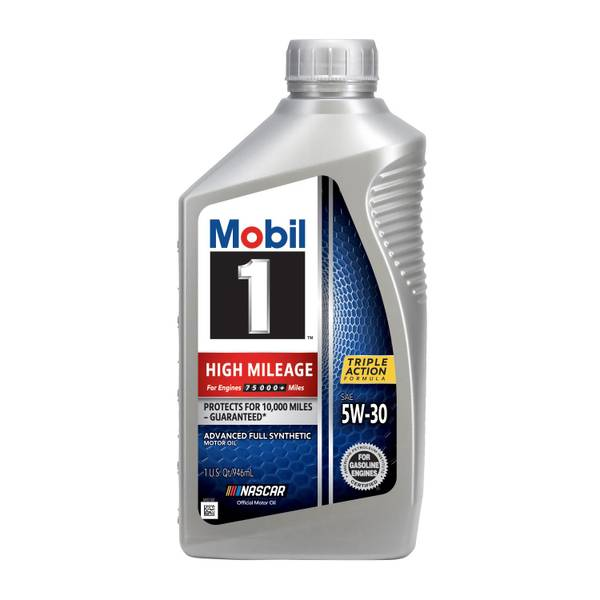 High Mileage Advanced 5W30 Full Synthetic Oil