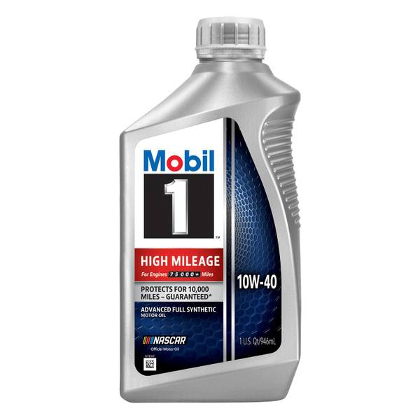High Mileage 10W-40 Full Synthetic Oil