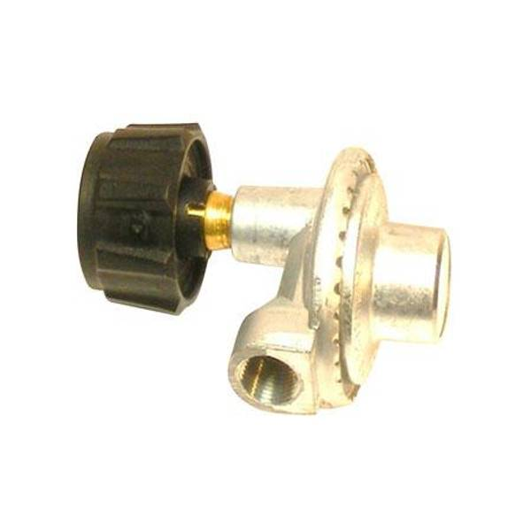 90 Degree Low Pressure Regulator with Appliance End Fitting