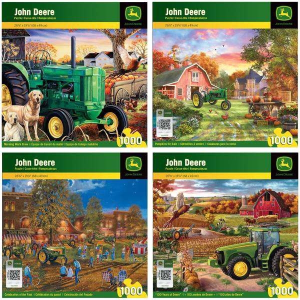 John Deere Celebration of the Past Puzzle Assortment
