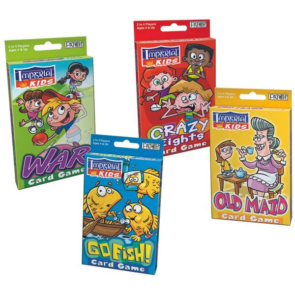 Imperial Kids Card Games Assortment