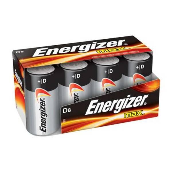 """D"" Alkaline Battery"