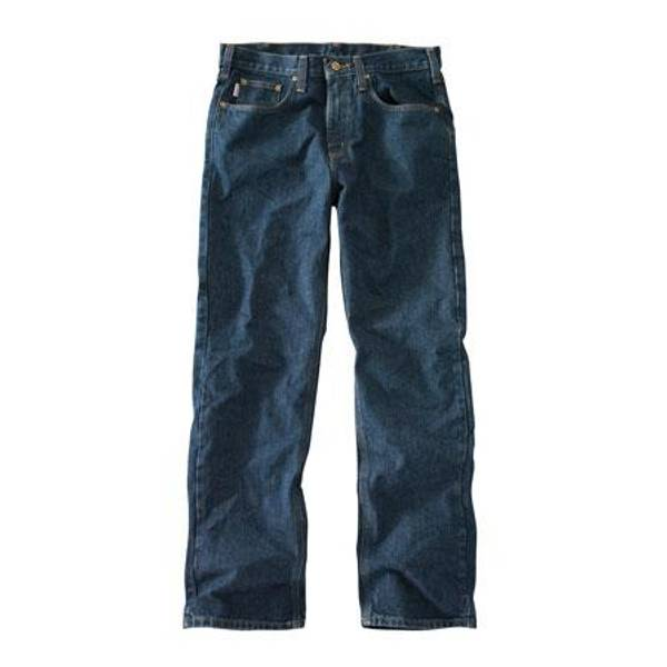 Men's Traditional Fit Straight Leg Jeans