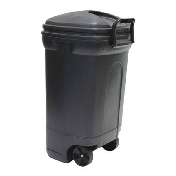 United Solutions Rectangular Wheeled Trash Can