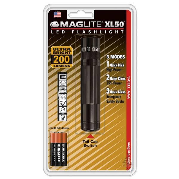 XL50 3 AAA LED Flashlight