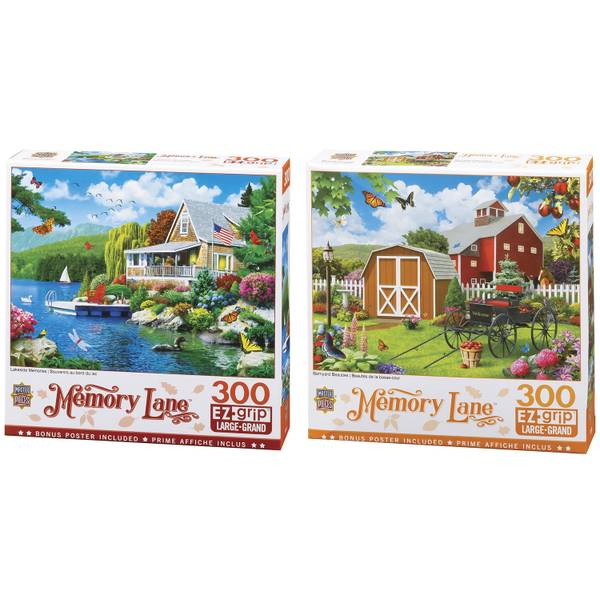 Memory Lane EZ Grip Puzzle Assortment