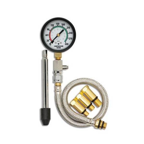 6 Piece Professional Automotive Compression Tester Kit