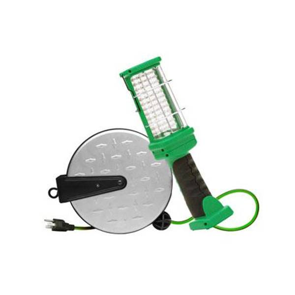 Retractable Cord Reel with 72 LED Worklight
