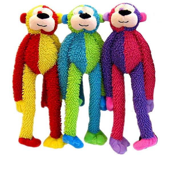 Multi Crew Monkey Dog Toy Assortment