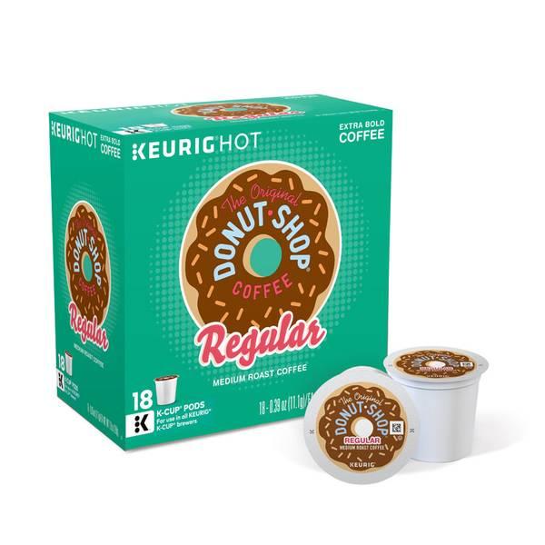 Original Donut Shop Medium Roast Extra Bold Coffee K - Cups