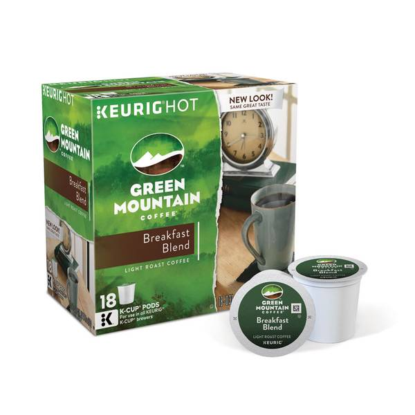 Breakfast Blend Coffee K - Cups