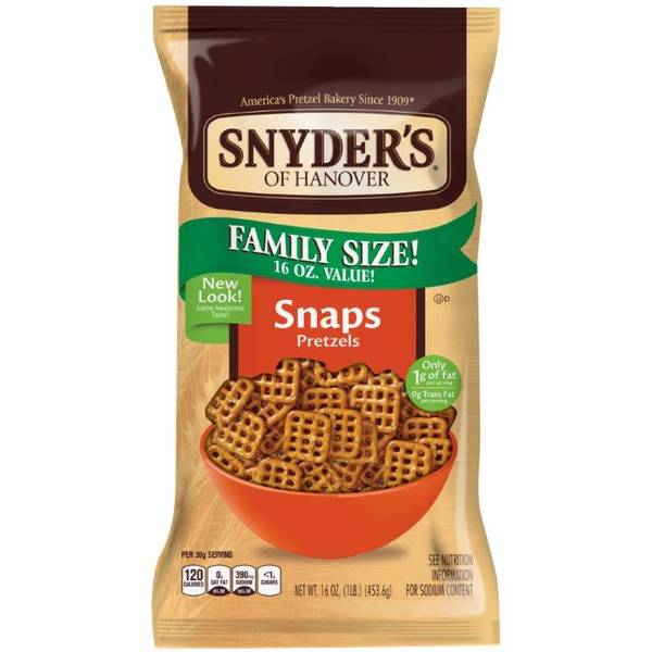 Snaps Pretzels